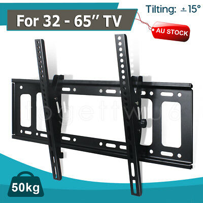 TV Wall Mount Bracket LCD LED Plasma Flat Slim 14 32 40 42 47 50 52 55 60 65 70