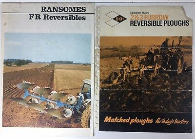 Collectables Reversible Plough Operating Instructions Salopian Huard
