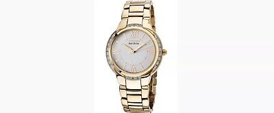 Citizen EM0093-59A Rose Gold Analog Eco-Drive Women's Watch Retail $450.00