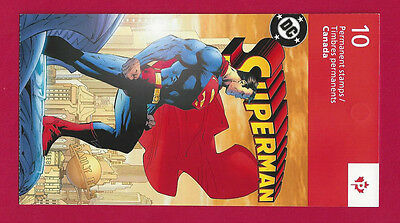 Canada   # BK558      SUPERMAN  BOOKLET  VFNH    New 2013 Issue