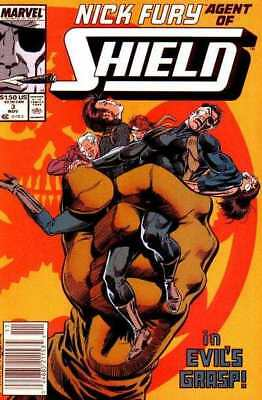 Nick Fury: Agent of SHIELD (1989 series) #3 in NM condition. Marvel comics [*g1]
