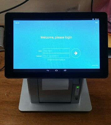 iConnect Smart Cash Register T635-D31 Dragon Touch Used W/ Printer Built In