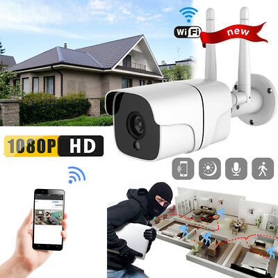 2MP WiFi 1080P HD Outdoor Wireless IR-Cut Security IP Camera Night Vision Audio