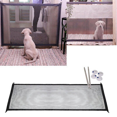 Portable Folding Safety Magic Gate Guard Mesh Fence Net for Pets Dog Puppy Cat h