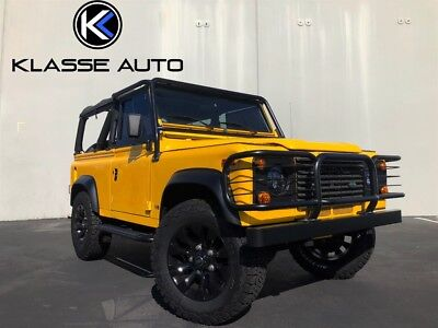1997 Land Rover Defender D90 2dr 1997 Land Rover Defender D90 Automatic Soft Top Only 44k Miles Stereo Very Clean