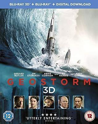 Geostorm (3D Blu-ray/Blu-ray, Digital Download, UK Import) Ships in 12 hours!!!