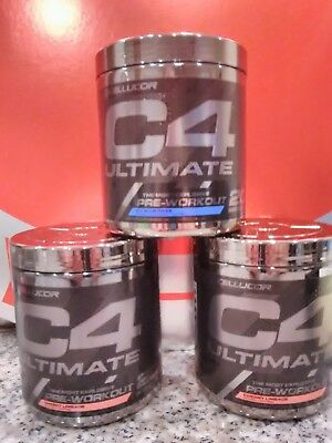 C4 Ultimate Pre-Workout 20-40 Servings, All Flavors