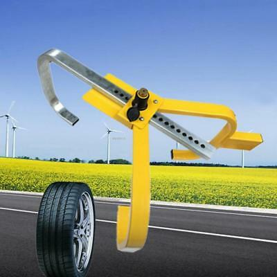 Car Tire Wheel Lock Adjust Auto Truck Anti-Theft Security Towing Device
