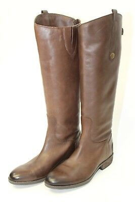 af07c0ce6a4f25 Sam Edelman Womens 7 M 37.5 Penny Brown Leather Fashion Riding Style Boots  qs