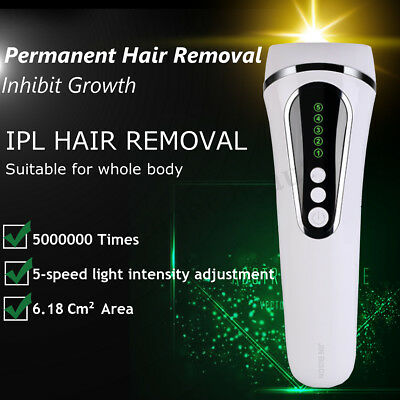 500, 000 Pulses IPL Permanent Hair Laser Removal for Body Face Home Use Device