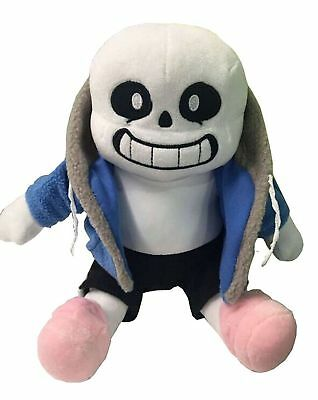 "Undertale Sans 12"" Stuffed Doll Plush Toy Cosplay Cushion Gift Hugger New Pillow"