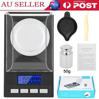 50g/0.001g High Precision Digital Balance Scale Carat Jewelry Gold Powder Scale