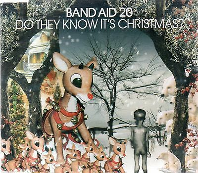 Band Aid 20 - Do They Know It's Christmas (3 track CD single)