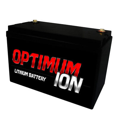 12v Lithium Ion 120a Battery Charge Deep cycle Sealed Replace Old AGM GEL SLA