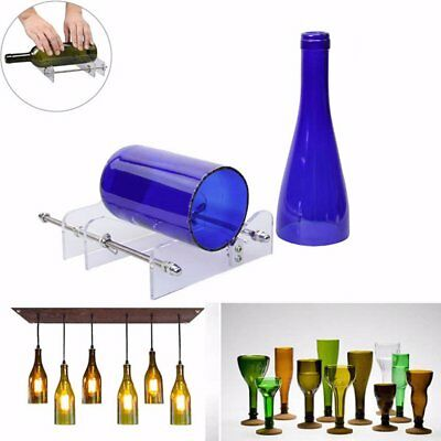 AU Glass Bottles Cutter Wine Beer Bottle Jar Machine DIY Handmade Cutting Tool