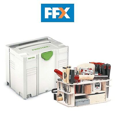 Festool 497658 Sys-Hwz Systainer 4 T-Loc avec Main Outil Insert