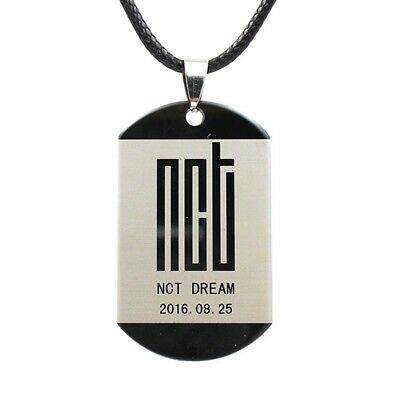 KPOP NCT DREAM Album Logo We Go Up Stainless Steel Necklace Fashion Accessories