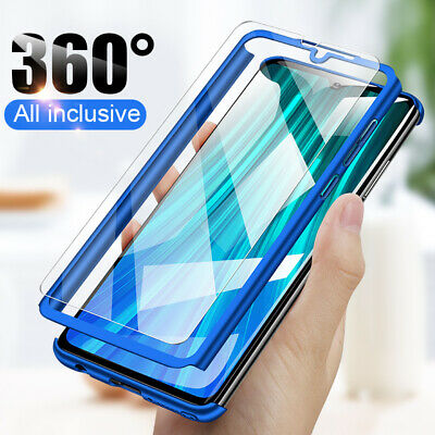 For Huawei Honor 8X 9i 10 9 8 Lite 360° Full Protect Case Cover + Tempered Glass