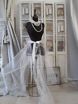 Antike SCHNEIDERPUPPE mit Wespentaille Skirt Cage *** shabby chic ***