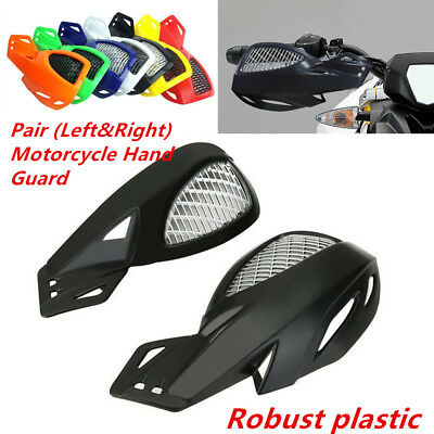 2pcs(L&R) Solid Motorcycle Hand Guard Protector w/ Mounting For 7/8''handlebar