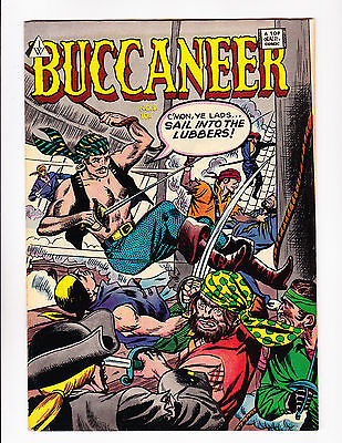 Buccaneer  No.8   : 1950's? :   : Great Pirate Cover! :