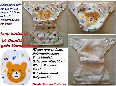 1 x Reusable Baby Child Swim Diaper Softcover Washable Pampas R56