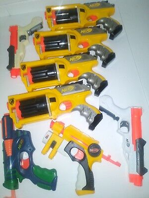 Nerf gun lot of 8