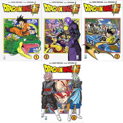 MANGA Dragon Ball Super Nº1-4 NUOVI