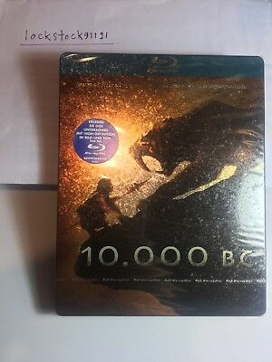 10000 BC Blu-ray Steelbook Crackle Version Germany 1st Edition RARE !!