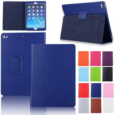 "Leather Stand Shockpoof Case Cover For iPad 9.7"" Air 2 3 4 5th 6th Generation"