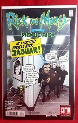 Rick And Morty Pickle Rick #1 Gsus Comics Variant! Limited run of 600!
