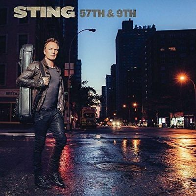 CD - STING - 57th & 9th ( 2016) Brand new & sealed)