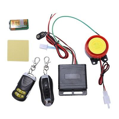 Motorcycle Alarm System Anti Theft Security System with Double Remote Contr M1U6