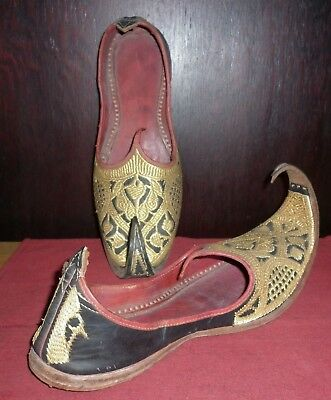 Vintage Exotic Middle Eastern Shoes Good Condition