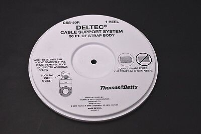 Thomas & Betts CSS-50R 50' Cable Strap Reel