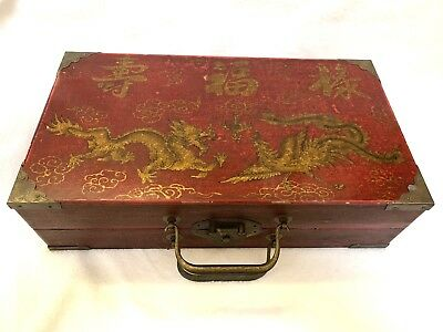 Oriental Wooden Chinese Chess Set