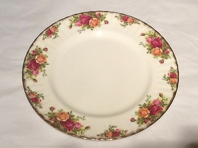 Royal Albert Old Country Roses Dinner Plate 1st Quality