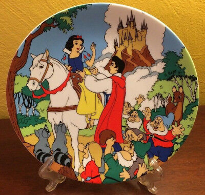 Walt Disney Plate Happily Ever After Snow White First Edition Series #/15,000