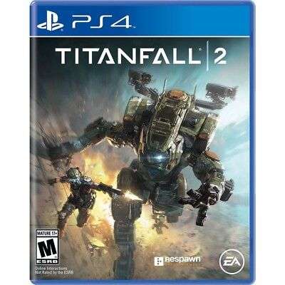 Titanfall 2 (PlayStation 4) BRAND NEW & FACTORY SEALED! titan fall ps4