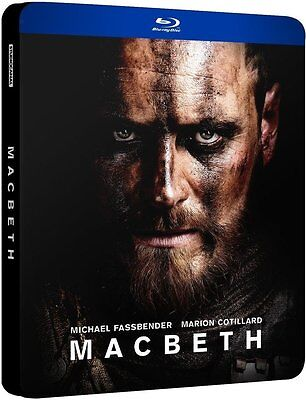 MACBETH Steelbook Blu Ray EDITION FRANCAISE NEUF SOUS BLISTER