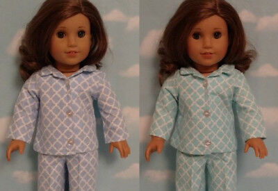 "Pajamas Doll Clothes for 18"" American Girl doll 410cd"