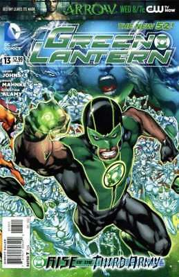Green Lantern (2011 series) #13 in Near Mint condition. DC comics [*bt]
