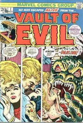 Vault of Evil #7 in Very Good condition. Marvel comics [*qi]