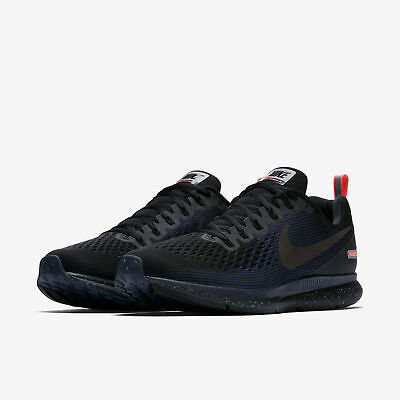 a805a5397f6 NIKE AIR ZOOM Pegasus 34 Shield Mens Running Shoes Black Obsidian ...