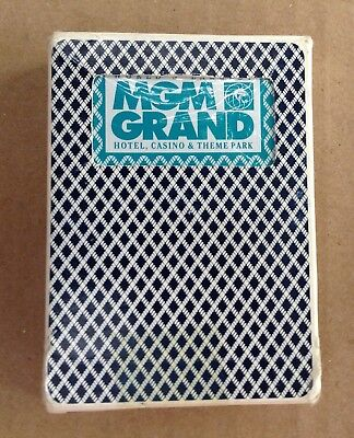 Bee No. 92 MGM Grand Hotel Casino Club Special Diamond Back Playing Cards