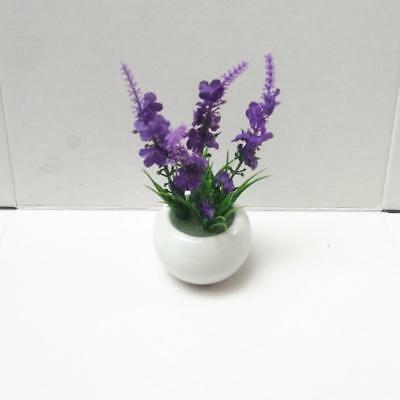 Artificial Silk Flower with Ceramic Pot Plant Bonsai Wedding Home Decoration