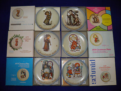 Lot of 28 Hummel Limited Edition Christmas Plates by Schmid and Goebel REDUCED!!
