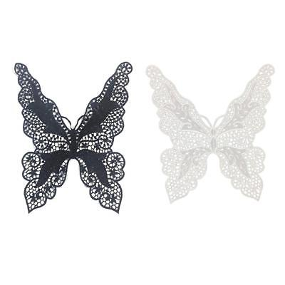 Butterfly Applique Lace Fabric Sewing Craft Embellishments Trims DIY Neck Collar