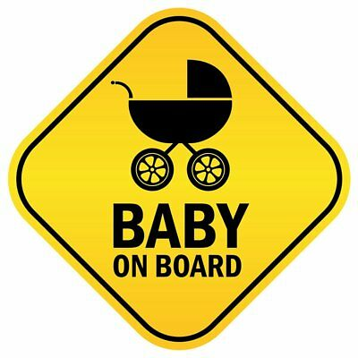 Baby on Board Warning Car Sticker Window Tail Reflective Perfect decoration
