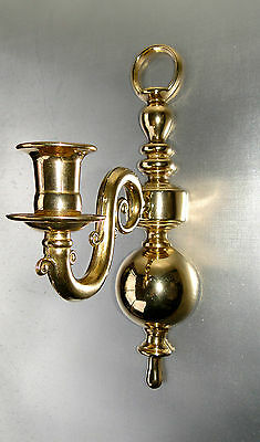 Wall Candle Sconces Brass Piano Candlestick Candle Holder Gold Solid 30cm